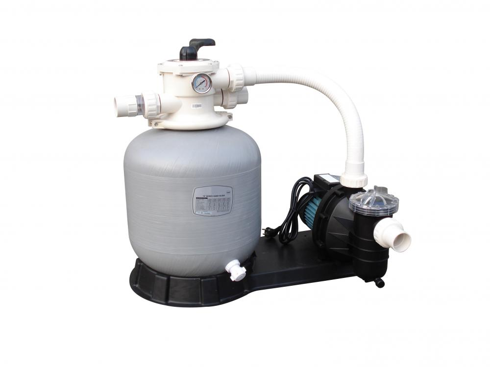 rengöring pool utan pump